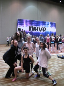 Members of the Dance REVolution Crew before the workshops started