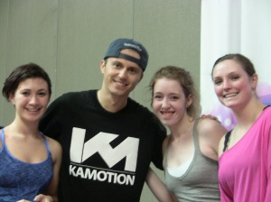 Dance REVolution Crew dancers with Kenny Wormald!!