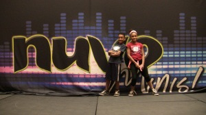 Quenton and Sariah represented the Jr. D REV Crew down at Nuvo